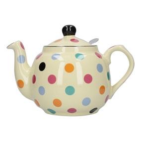 London Pottery Spotted Farmhouse Teapot