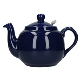London Pottery Cobalt Blue Farmhouse Teapot