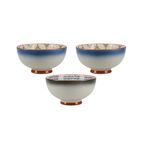 Mikasa Drift Set of 3 Small Bowls