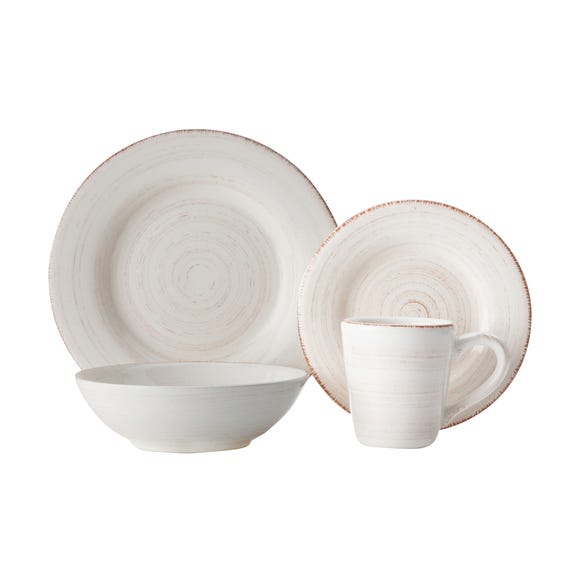 Maxwell & Williams Casa Domani 16 Piece Dinner Set Natural