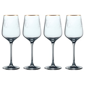 V&A The Cole Collection Set of 4 Red Wine Glasses