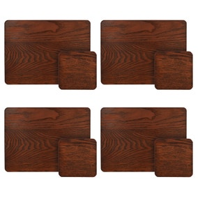 Set of 4 Naturals Placemats and Coasters