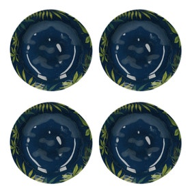 Mikasa Drift Set of 4 Melamine Pasta Bowls
