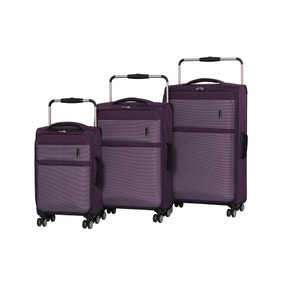IT Luggage World's Lightest Purple Suitcase