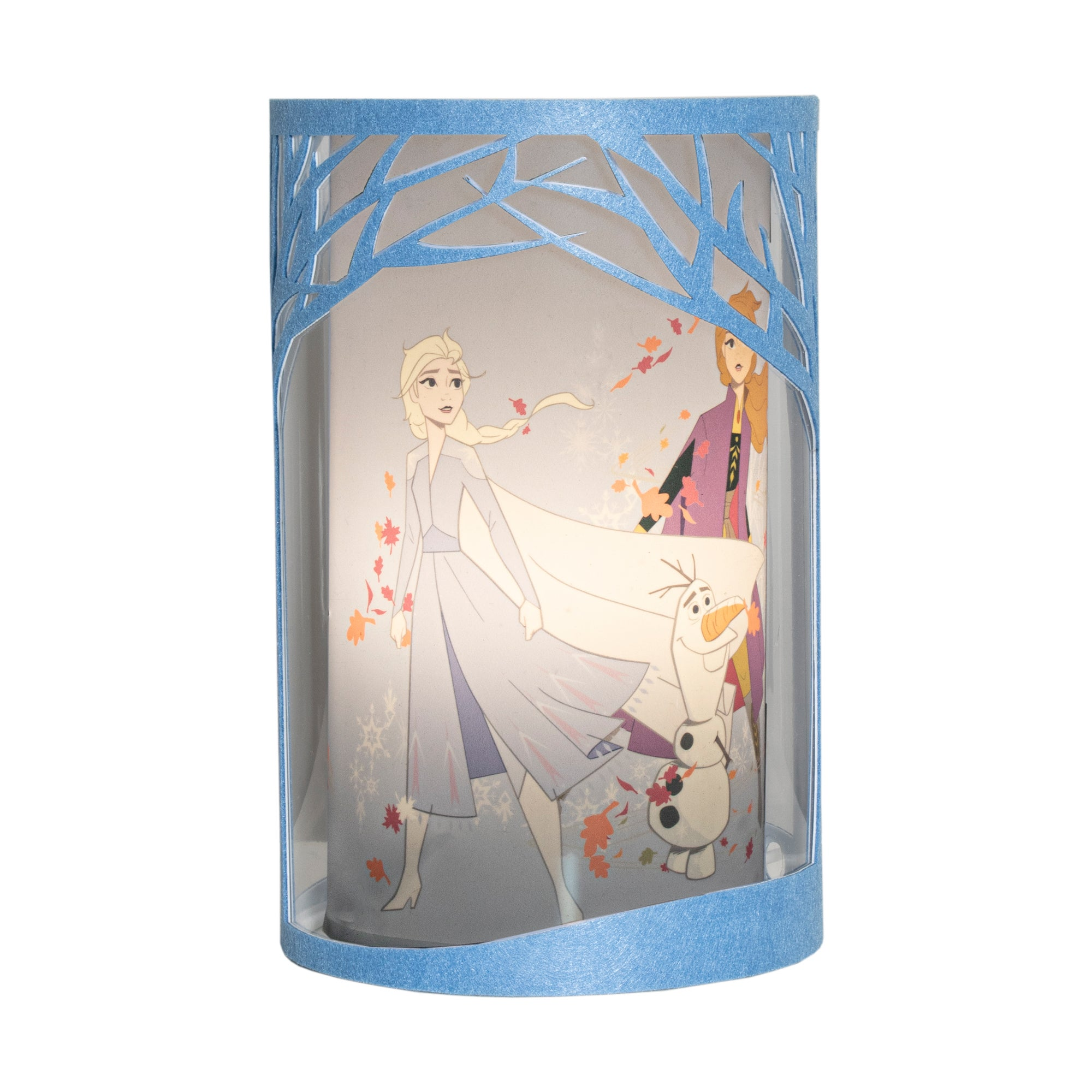 Photo of Frozen 2 table lamp blue