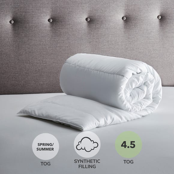 Fogarty 4.5 Tog Duvet White undefined