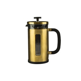 La Cafetiere 3 Cup Brushed Gold Pisa Cafetiere
