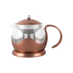La Cafetiere 4 Cup Copper Teapot