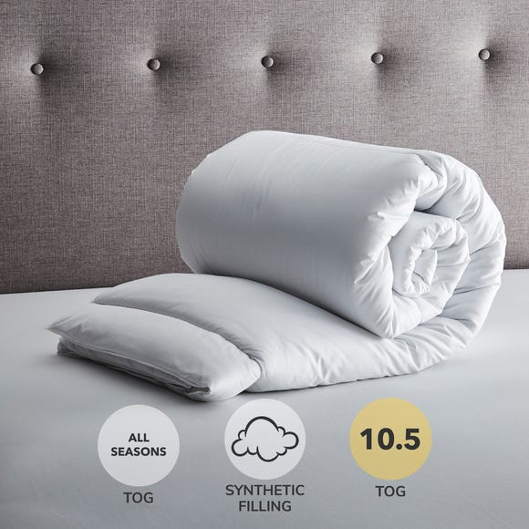 Fogarty 10.5 Tog Duvet White undefined