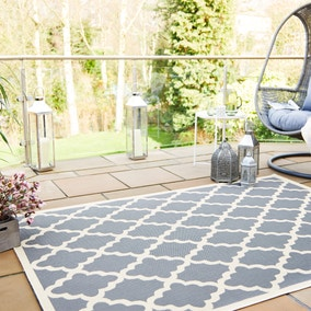 Indoor Outdoor Padua Geometric Rug