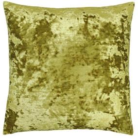Paoletti Neptune Crushed Velvet Cushion