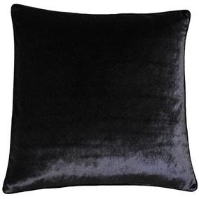 Paoletti Luxe Velvet Black Cushion