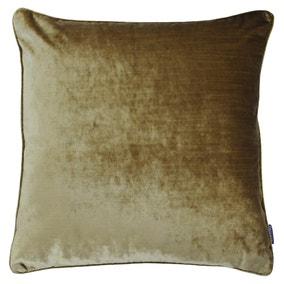 Paoletti Luxe Velvet Gold Cushion