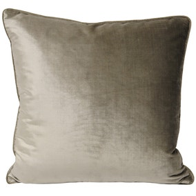 Paoletti Luxe Velvet Mink Cushion