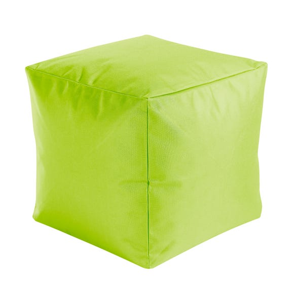 Indoor Outdoor Bean Cube Green