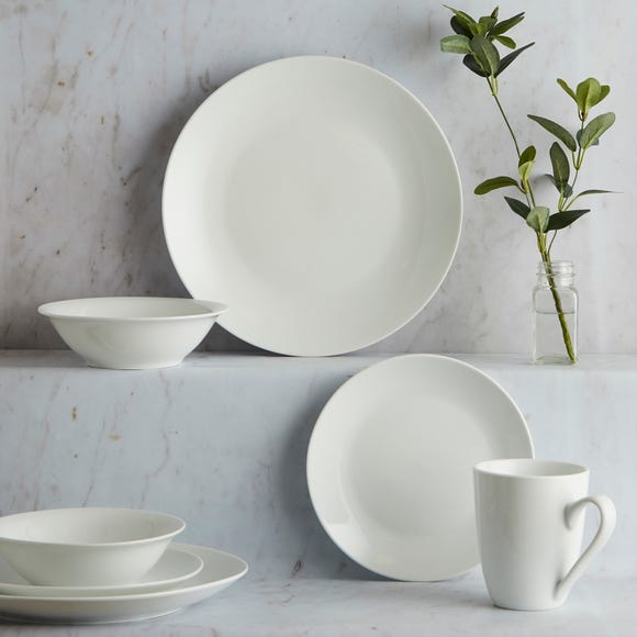 Purity 16 Piece Dinner Set White