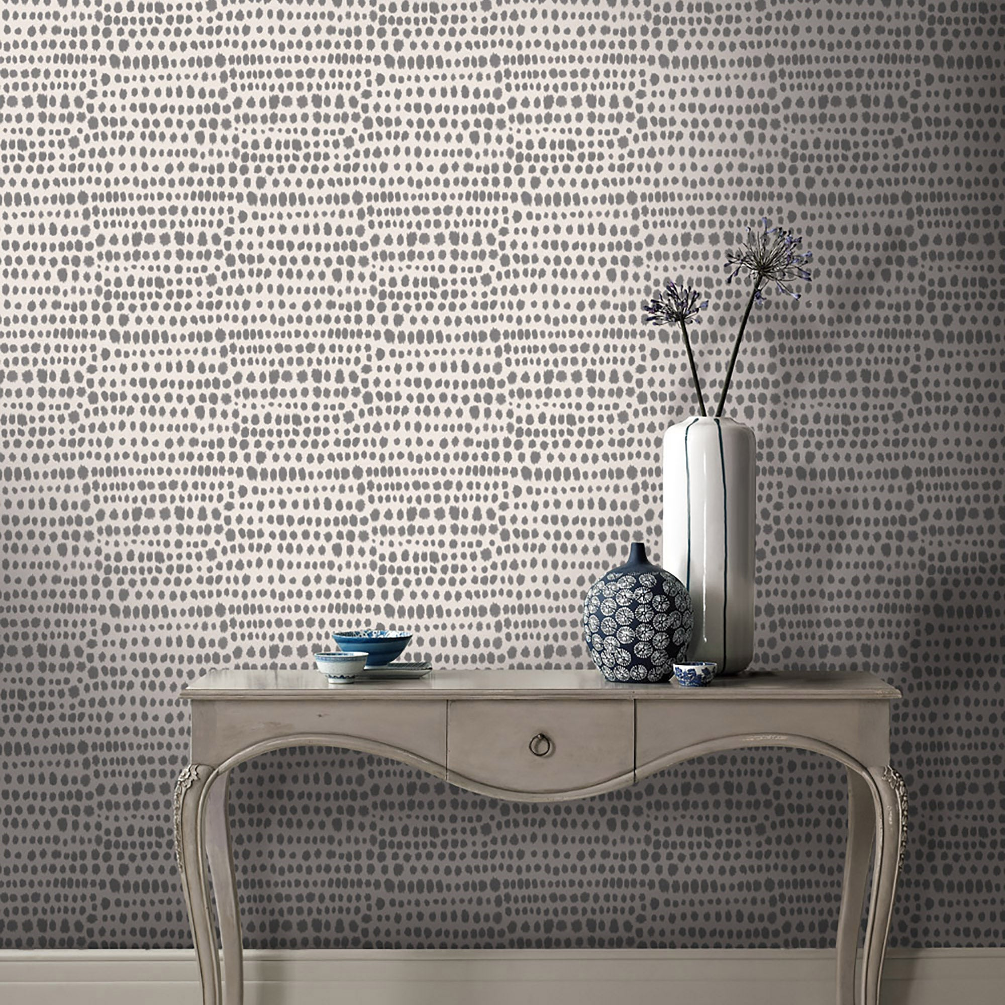 Click to view product details and reviews for Tribal Charcoal Wallpaper Charcoal.