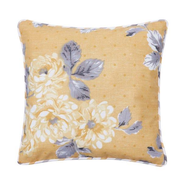 Ashbourne Ochre Cushion MultiColoured