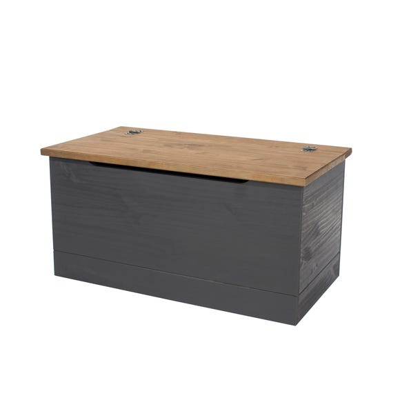 Corona Carbon Storage Trunk Grey