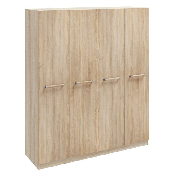 Hampton 4 Door Wardrobe