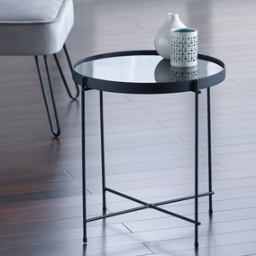 Oakland Mirrored Side Table