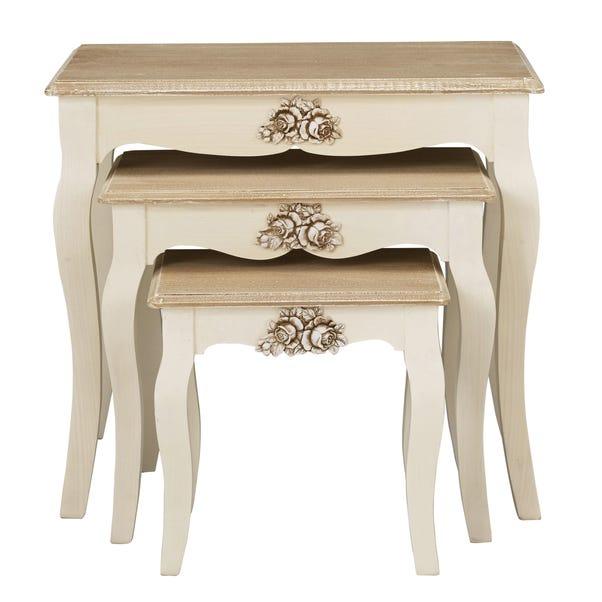Juliette Nest of Tables White
