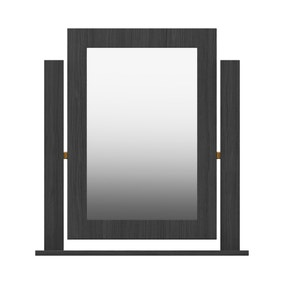 Ethan Graphite Mirror