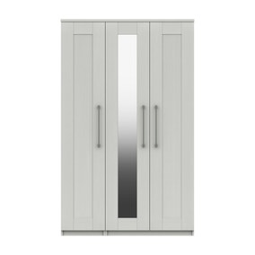 Ethan White 3 Door Wardrobe