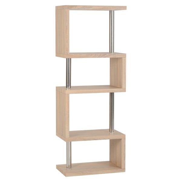 Charisma Bookcase Oak (Brown)