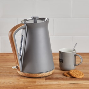 Contemporary 1.7L 3kW Matt Grey Jug Kettle