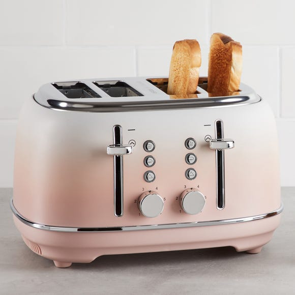 Ombre Effect 4 Slice Blush Pink Toaster Pink