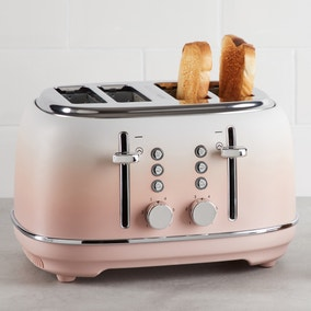 Ombre Effect 4 Slice Blush Pink Toaster