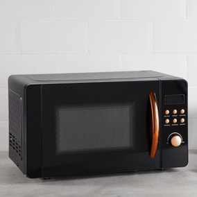 Elements 20L 800W Black and Copper Microwave