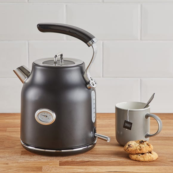 Retro 1.7L 3kW Matt Black Kettle Black