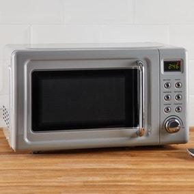 Retro 20L 800W Grey Microwave