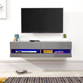 Galicia 120cm LED Wall TV Unit