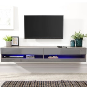 Galicia 180cm LED Wide Wall TV Unit