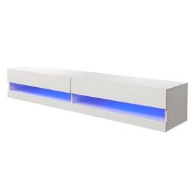 Galicia 180cm LED Wide Wall TV Unit