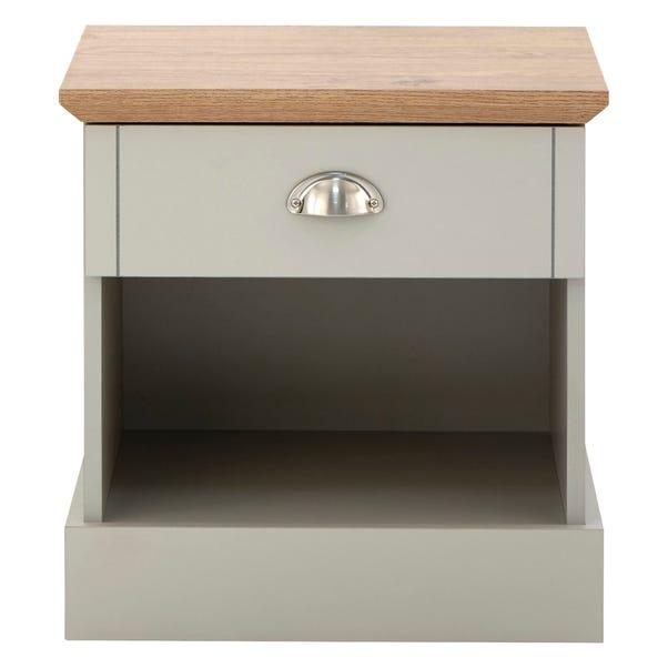 Kendal Bedside Table Grey