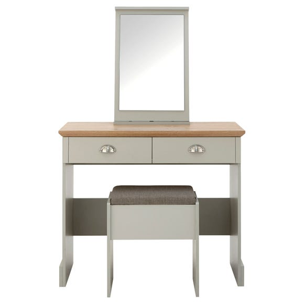 Kendal Dressing Table Set Grey