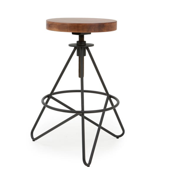 Emilia Bar Stool Black