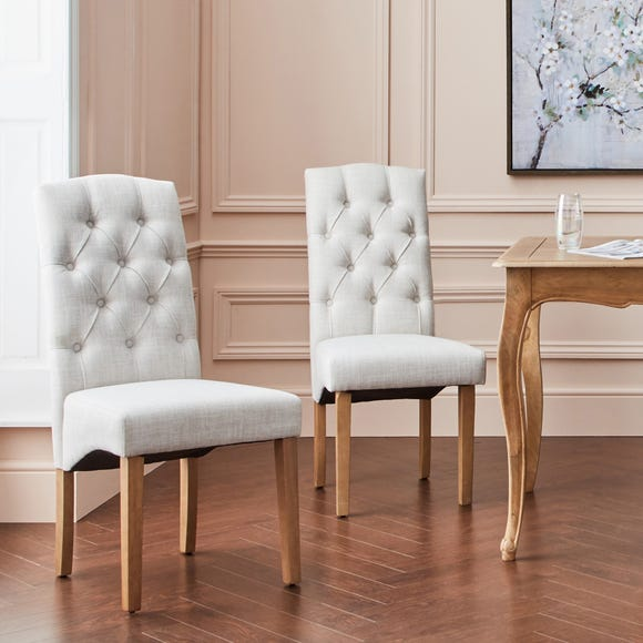 Darcy Set of 2 Dining Chairs Natural