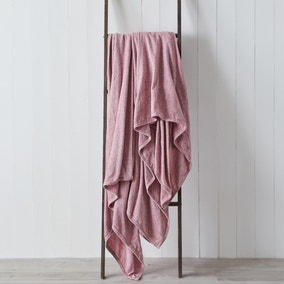Chenille Blush 200cm x 200cm Throw