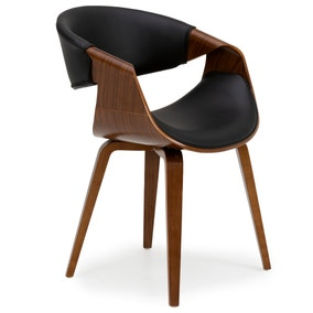 Modena Chair Black PU Leather