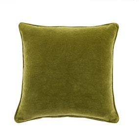Clara Cotton Velvet Square Cushion