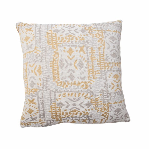 Lerma Chenille Cushion Cover Ochre undefined