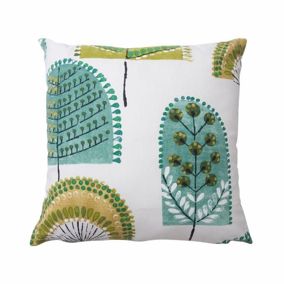 Nordic Trees Cushion Cover Green undefined