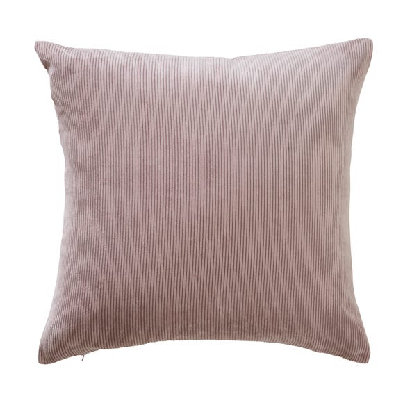 Corduroy Cushion Mauve undefined