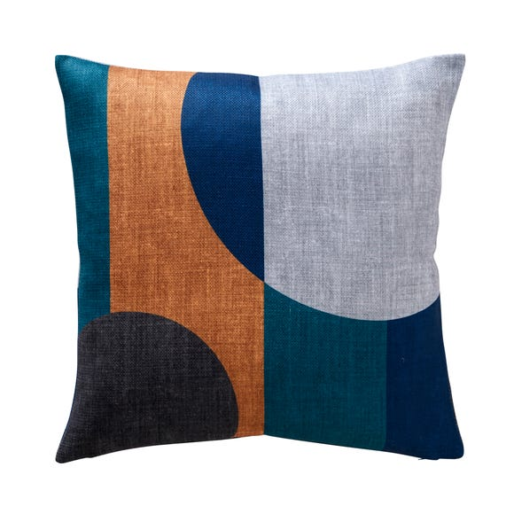 Elements Blocks Navy Cushion Navy
