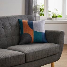 Elements Blocks Navy Cushion